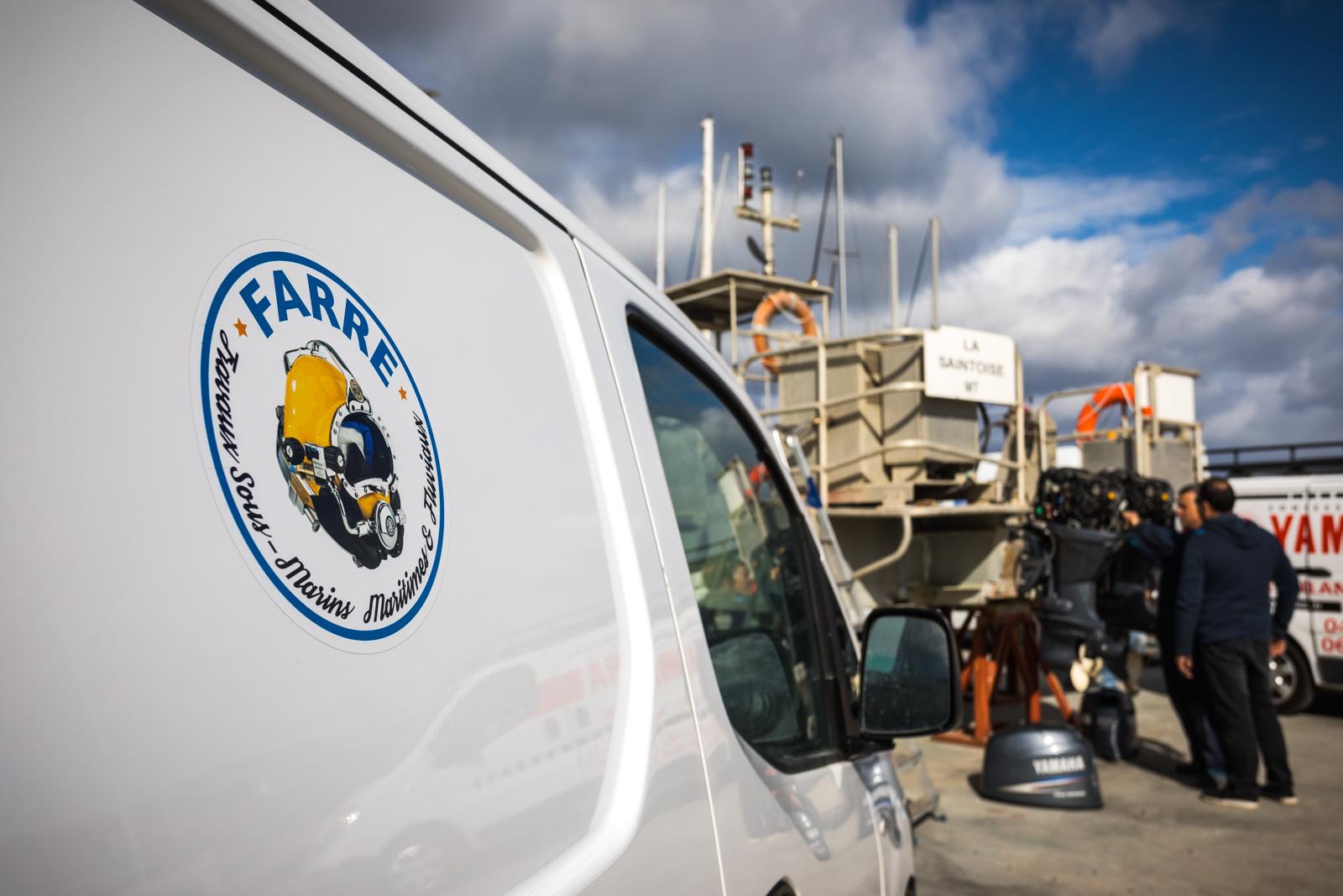 Travaux maritimes sète entreprise farre