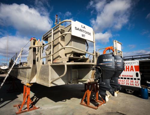 Carénage de la barge : Matériel de travaux maritimes en location