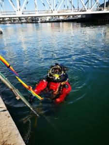 Travaux sous marin maritime fluviaux Sète