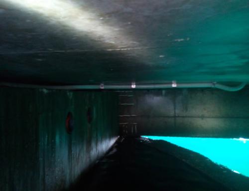 Travaux subaquatiques : Installation de colliers de câblage sous quai à Sète