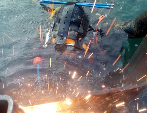 Découpage de métaux – Travaux sous-marins à Sète