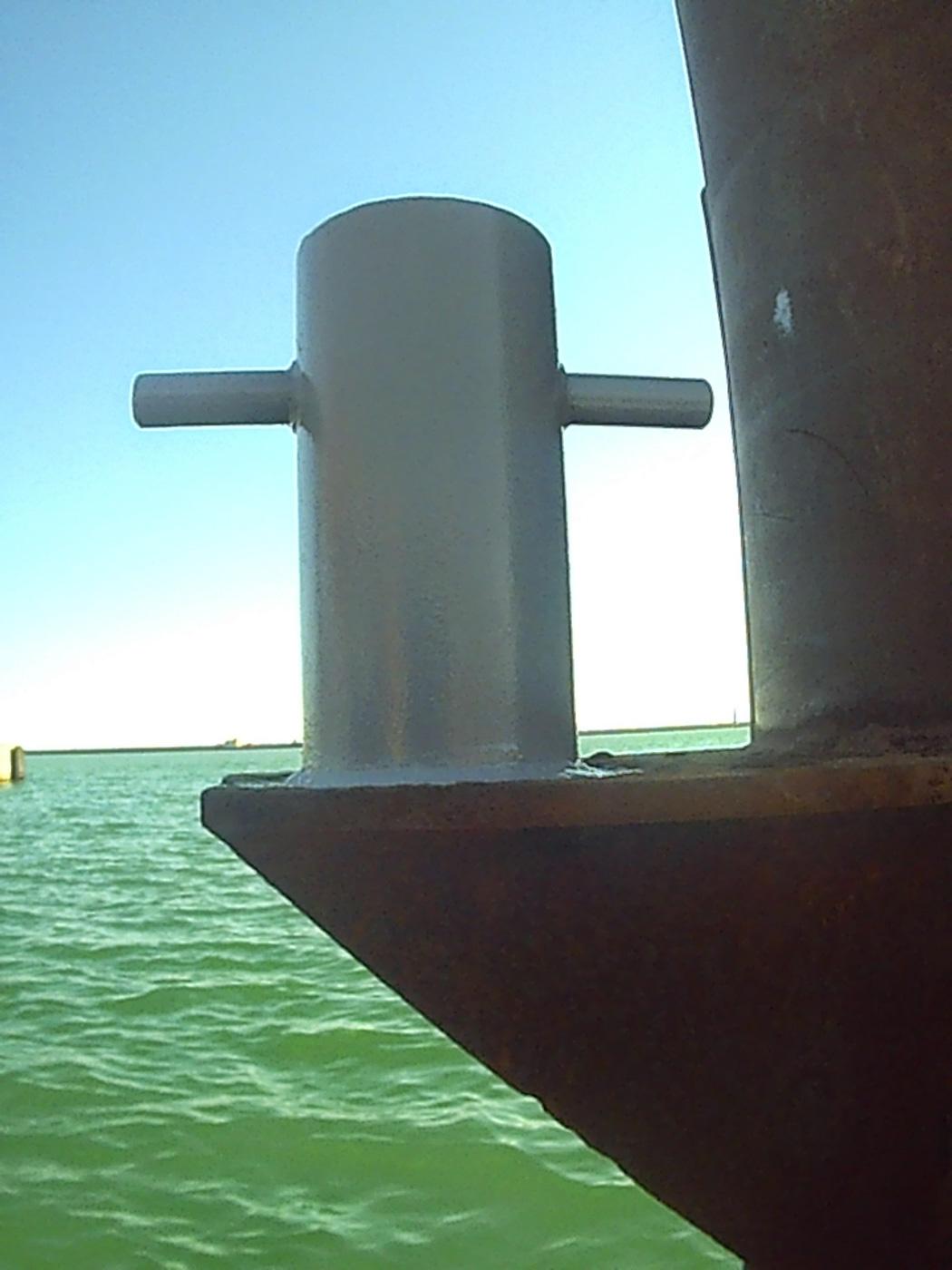 Travaux sous-marin sète appontement
