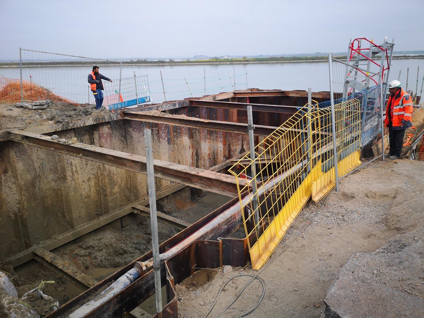 coulage béton Travaux sous-marins Sète